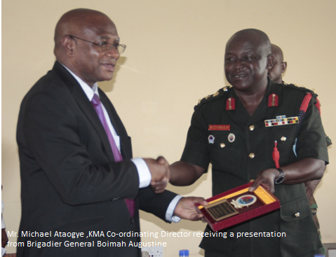 Ghana Armed Forces Command Visit KMA