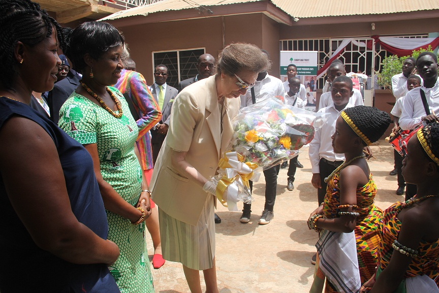 Princess Anne Visit 3rd April 2017