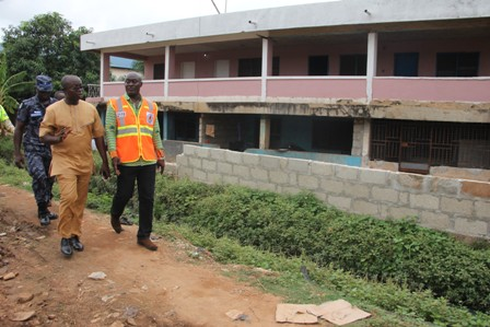 INSPECTION OF FLOOD PRONE AREAS